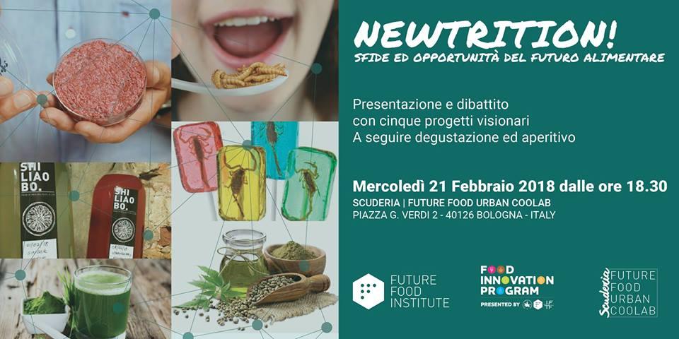 NEWTRITION! Sfide ed opportunità del futuro alimentare
