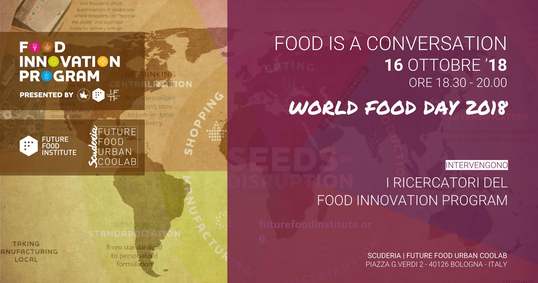 Food is a conversation: World Food Day 2018